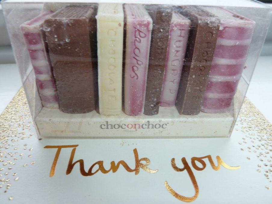 a big thank you to bloggers